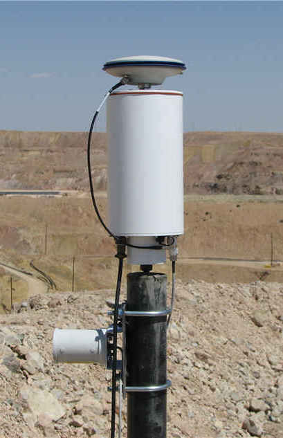 CAN-GPS for slope stability monitoring